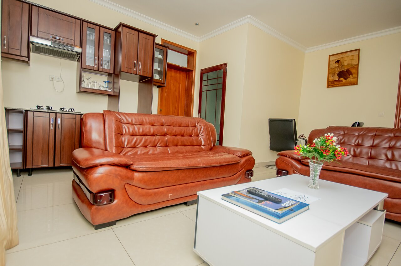 Living room for Suite